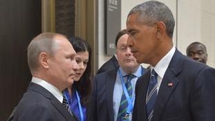 Barack Obama and Vladimir Putin did not have a close relationship.