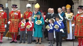 Her Majesty The Queen visits Leicester Cathedral