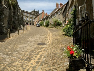 Gold Hill in Cambridge was featured in adverts for Hovis bread.