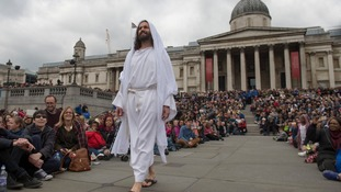 Passion of Jesus - Trafalgar Square
