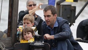 Jo Cox's widower Brendan Cox and their children Cuillin and Lejla marked what would have been her 42nd birthday in June last year at an event in Trafalgar Square.