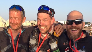 Duncan Slater makes history as first double amputee to complete world's toughest race