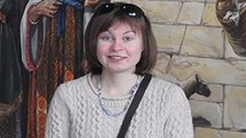 Hannah Bladon was an exchange student in Jerusalem.