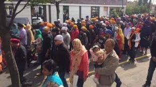 Vaisakhi procession