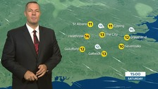 Weather: Chilly and breezy, with sunny spells.