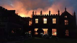 Fire that gutted 16th Century stately home being treated as 'suspicious'