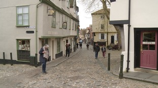 Elm Hill in Norwich.