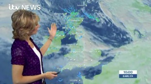 Emma Jesson brings you the latest weather update