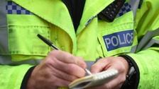 Officers were called to Church Lane, Horncastle in Lincolnshire on Thursday 13 April.