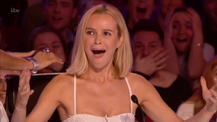 Britain's Got Talent 2017: Amanda Holden shocked after eight-year-old comedian calls her 'talking dog'