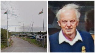 Search for 90-year-old sailor on Welsh coast ends