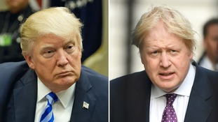 Trump and Johnson have both condemned North Korea's actions.