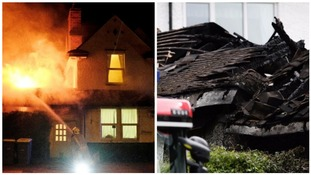 The fire broke out at around 11pm on Saturday night.