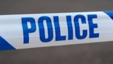 A man has died following a one-vehicle collision in a village near Carlisle