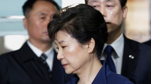 Ex-South Korean President formally charged with bribery and set to face trial within weeks