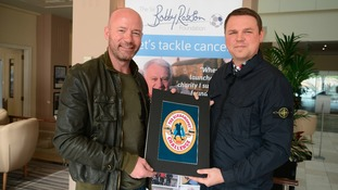 Shearer backs Hike4Hopey team fundraising for Sir Bobby