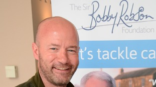 Alan Shearer is a patron of the Sir Bobby Robson Foundation