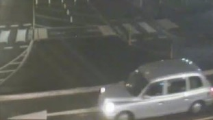 Merseyside Police are looking for the driver of this taxi for help in finding Georgiana