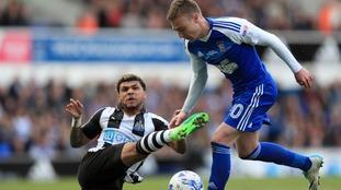 Ipswich 3-1 Newcastle