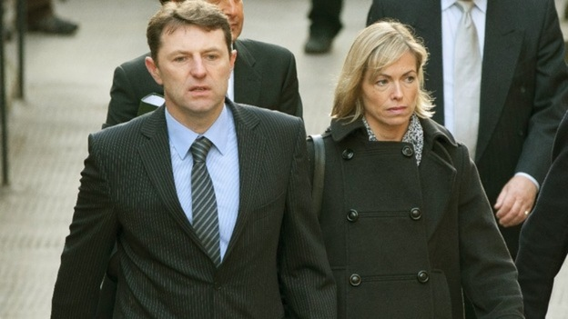 Kate and Gerry McCann arrive to give evidence to the Leveson Inquiry last year. 