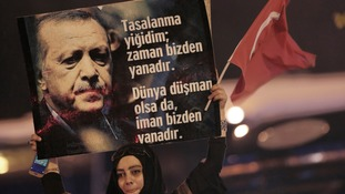 The referendum gives Mr Erdogan sweeping new powers