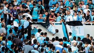 Argentine football fan thrown to his death by fans who thought he was a rival