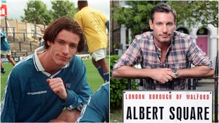 Dean Gaffney, pictured in 1998 and 2018