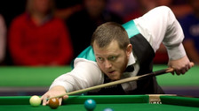 Mark Allen sealed a 10-8 win to progress to the second round.