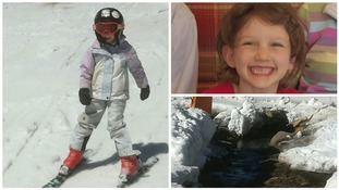 Miraculous survival of girl trapped in snow