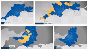 The region used to be a key liberal democrat stronghold.