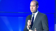 Prince William praised the runners taking part in this year's London Marathon.