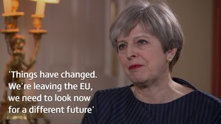 Full transcript: Theresa May's exclusive interview after calling for a General Election