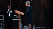 The Prime Minister makes her announcement