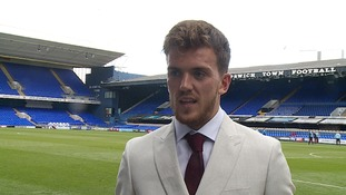 Emyr Huws: On loan midfielder targeting extended Ipswich Town stay