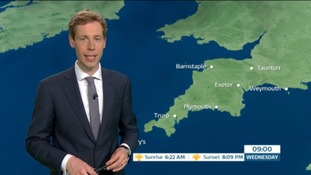 Martin Stew with this morning's forecast.