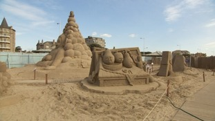 Record-breaking Easter for Weston Sand Sculpture Festival