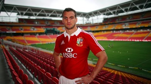 Sam Warburton will be leading the Lions.