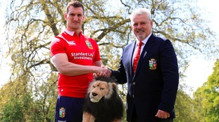 Sam Warburton will lead the Lions.