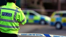 The incident happened in Grassmoor, Derbyshire