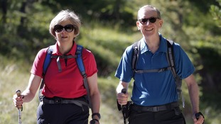 From church to trekking - what the Prime Minister got up to on her holiday in North Wales