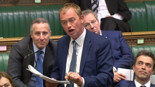 Tim Farron faced questions over his willingness to form another coalition.