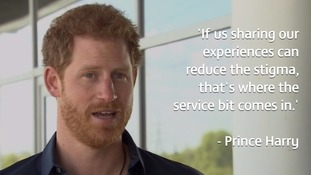 Prince Harry says he hopes Princess Diana would be proud of him for speaking out on mental health