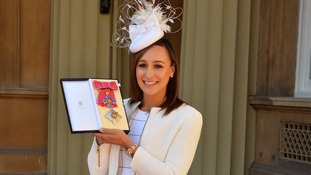 Jessica Ennis-Hill has been made a Dame.