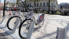 The bike hire scheme launched in 2015.