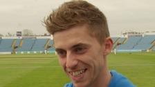 Pace bowler Ben Coad.