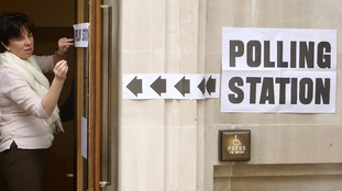 Polling stations are open from 7am to 10pm on the day of the election.