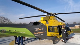 Children's Air Ambulance will save many more lives