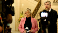 Michelle O'Neill accused the Prime Minister of showing blatant disregard.