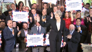 Theresa May in Bolton