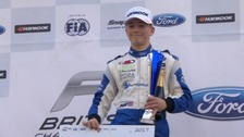 17-year-old Formula 4 racing driver Billy Monger